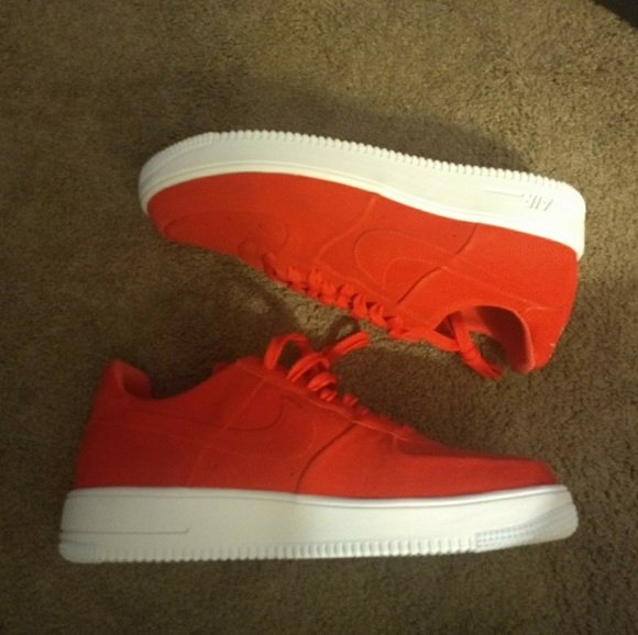 hot sale online ad583 d977f NIKE AIR FORCE 1 ULTRAFORCE TRACK RED-WHITE SZ 13
